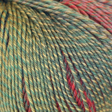 Paradise Fibers Yarn Knitting Fever Painted Sky - Fern Green