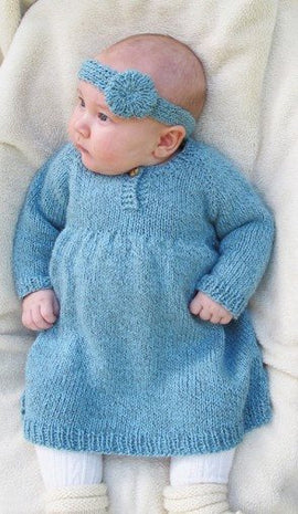 Knitting Pure & Simple Baby Dress Pattern