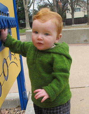 Knitting Pure & Simple Lightweight Baby Tunic Pattern-Patterns-