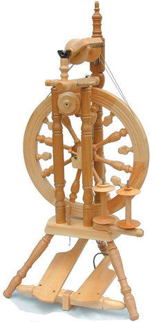 Paradise Fibers Spinning Wheel Kromski Minstrel Spinning Wheel Clear - 3