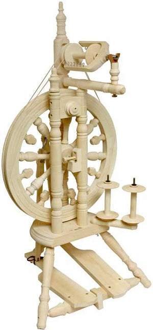 Kromski Minstrel Spinning Wheel-Spinning Wheel-Unfinished-