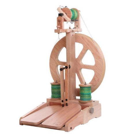 Ashford Kiwi 3-Spinning Wheel-Paradise Fibers