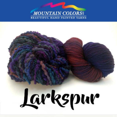 Mountain Colors Twizzlefoot Yarn Larkspur - 51