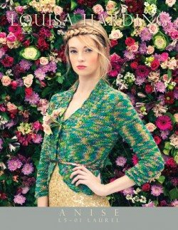 Louisa Harding Laurel Jacket Pattern-Patterns-