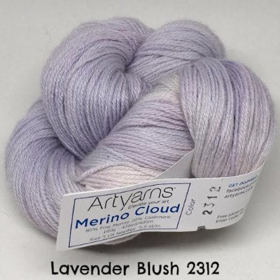 ArtYarns Merino Cloud Yarn Lavender Blush 2312 - 8