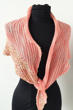 Artyarns Lazy Days Shawl Kit  - 3