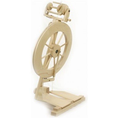 Lendrum DTC Folding Spinning Wheel- Complete Double Treadle