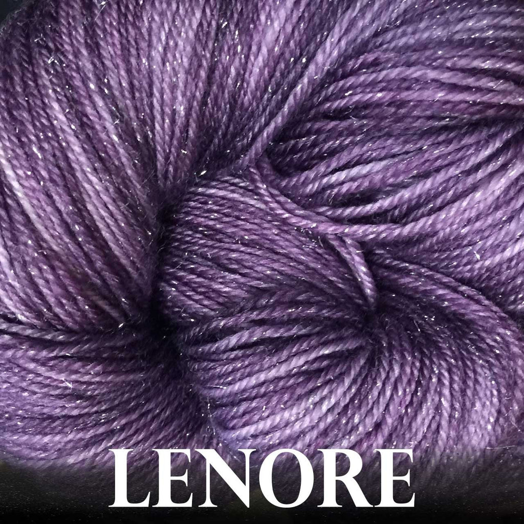 Paradise Fibers Yarn Anzula Luxury Nebula Yarn Lenore - 9