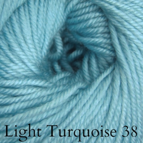 Ella Rae Cozy Soft Solids Yarn Light Turquoise 38 - 30