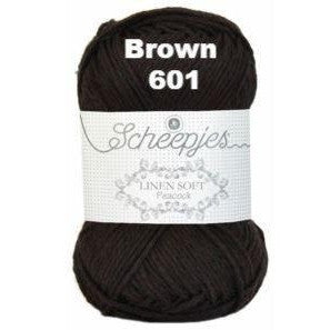Scheepjes Linen Soft Brown 601 - 2
