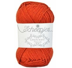 Scheepjes Netting Bags Kit Burnt Orange - 6