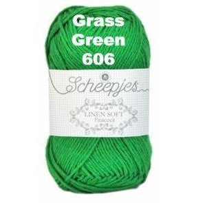 Scheepjes Linen Soft Grass Green 606 - 7