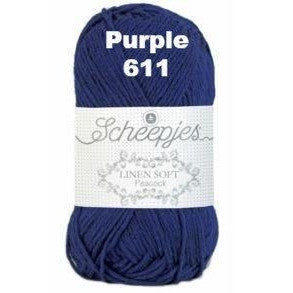 Scheepjes Linen Soft Purple 611 - 12