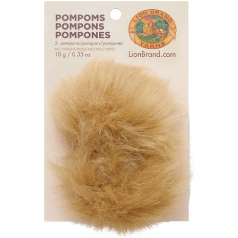 Pom-Poms 2/Pkg-Accessories-Notions-Lion 123-Paradise Fibers