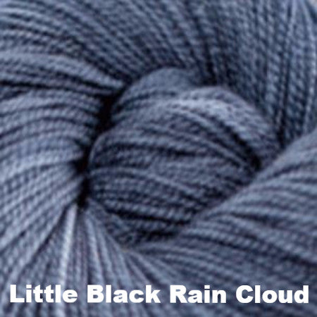 Paradise Fibers Yarn Three Irish Girls Adorn Sock Yarn Little Black Rain Cloud - 17
