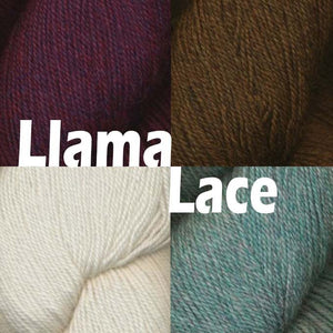 Queensland Collection Llama Lace Yarn-Yarn-Red Plums 010-