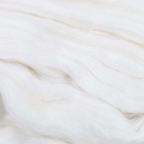 Paradise Fibers Undyed Llama and Mulberry Silk Blended Top - Phantom