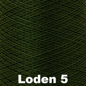 3/2 Mercerized Perle Cotton-Weaving Cones-Loden 5-