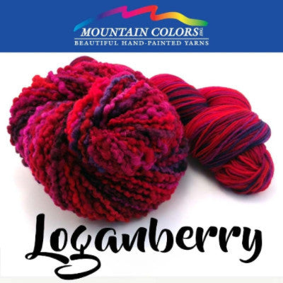 Mountain Colors Twizzlefoot Yarn Loganberry - 52