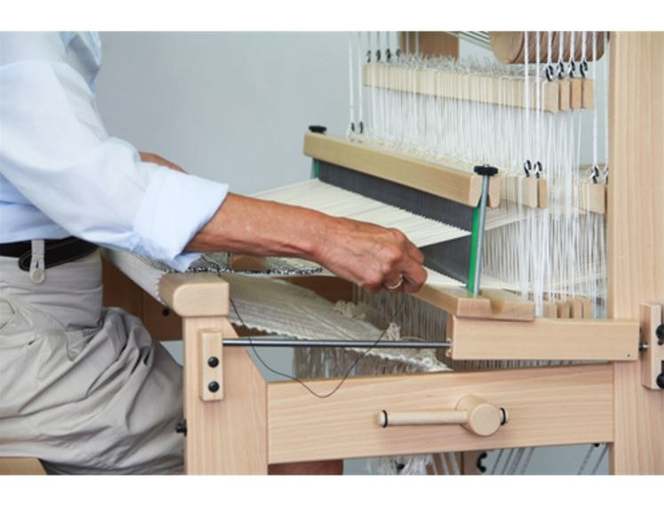Louet David Floor Looms with New Sliding Beater