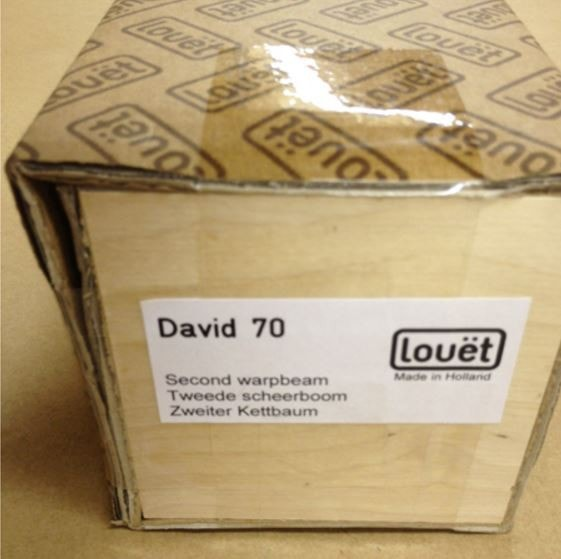 Louet Second Warp Beam for the David 70 Loom