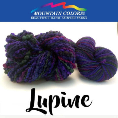 Mountain Colors Twizzlefoot Yarn Lupine - 54