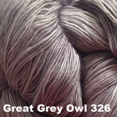 Madelinetosh Tosh Sport Yarn Great Grey Owl 326 - 49