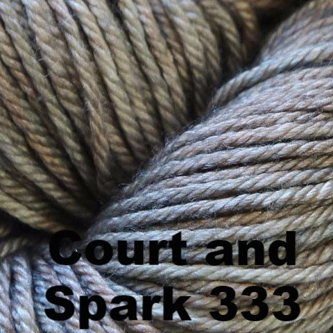 Madelinetosh Silk Merino Yarn Court and Spark 333 - 10