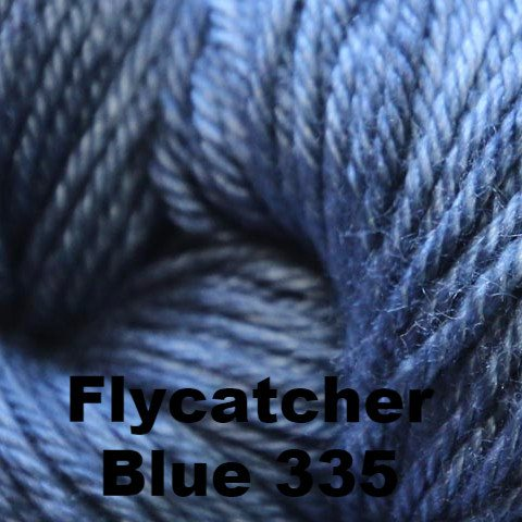 Madelinetosh Silk Merino Yarn Flycatcher Blue 335 - 29