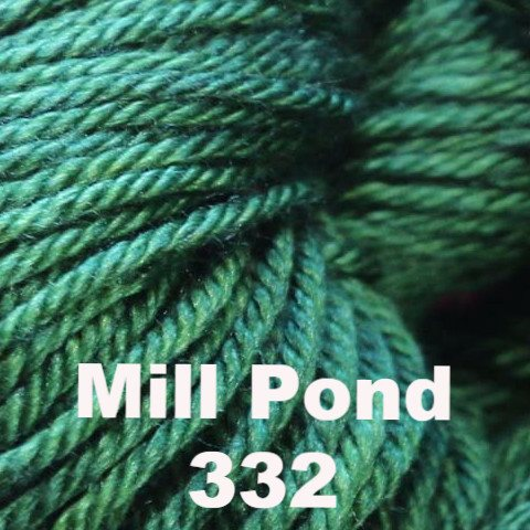 Madelinetosh Silk Merino Yarn Mill Pond 332 - 18