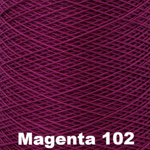 3/2 Mercerized Perle Cotton-Weaving Cones-Magenta 102-