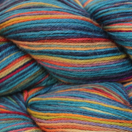 Paradise Fibers Misti Alpaca Hand Paint Sock Yarn - Northern Lights