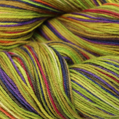 Paradise Fibers Misti Alpaca Hand Paint Sock Yarn - Tree Frog