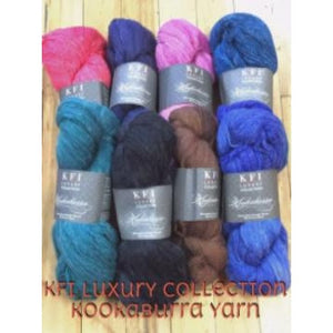 KFI Luxury Collection - Kookaburra Yarn-Yarn-Passing Hours 101-