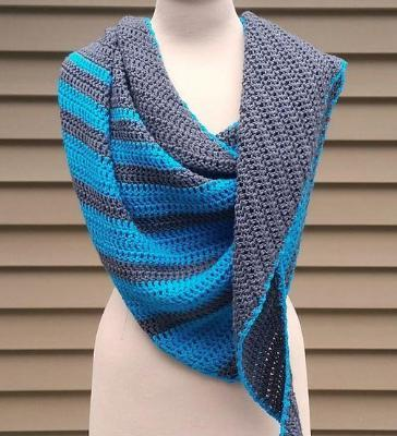 Tidal Wave Shawl Kit
