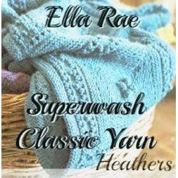 Ella Rae Superwash Classic Yarn - Heathers  - 1