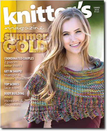 Knitter's Magazine Summer 2016 K123