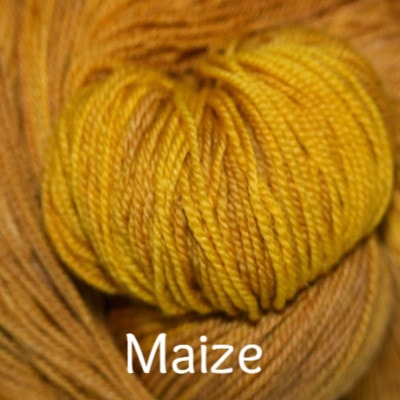 Paradise Fibers Yarn Palouse Yarn Company Cashmere Squeeze Maize - 15