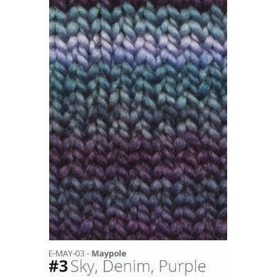 Euro Baby Maypole Yarn Sky Denim Purple 03 - 4