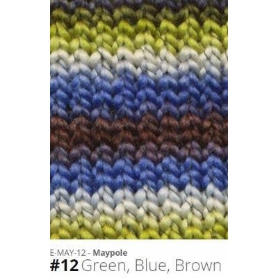 Euro Baby Maypole Yarn Green Blue Brown 12 - 10