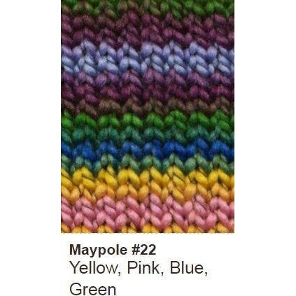 Euro Baby Maypole Yarn Yellow Pink Blue Green 22 DISC - 17