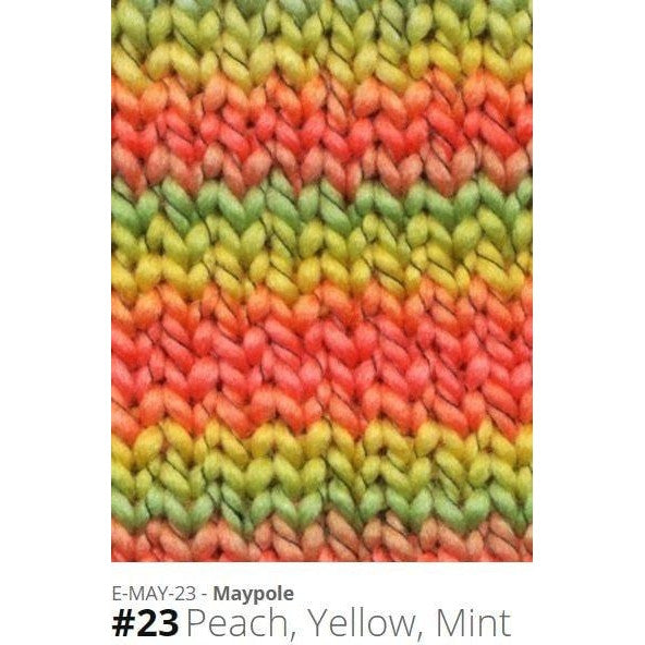 Euro Baby Maypole Yarn Peach Yellow Mint 23 - 18