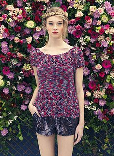 Louisa Harding Meadowsweet Top Pattern