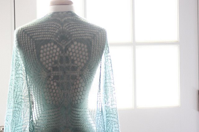 Romi Hill Meeks Bay Shawl Pattern  - 5