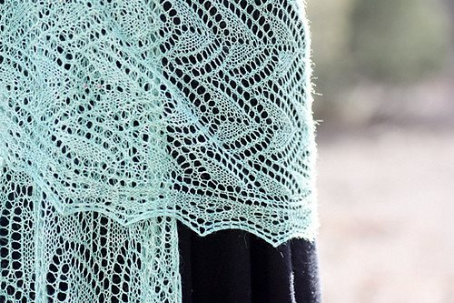 Romi Hill Meeks Bay Shawl Pattern  - 10