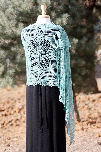 Romi Hill Meeks Bay Shawl Pattern  - 4