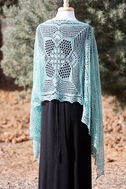 Romi Hill Meeks Bay Shawl Pattern  - 8