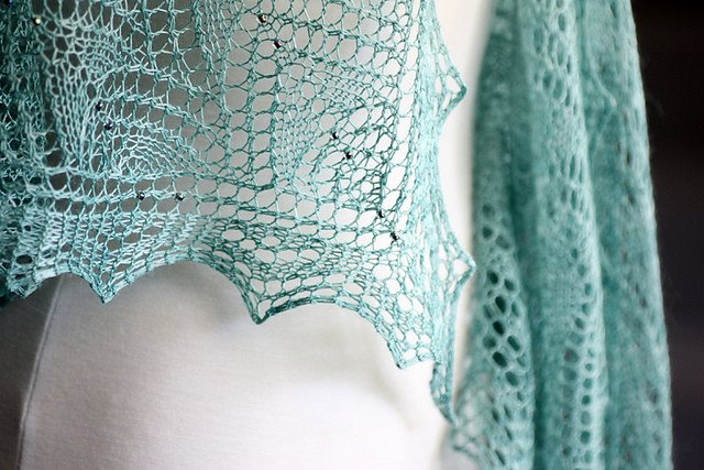 Romi Hill Meeks Bay Shawl Pattern  - 7