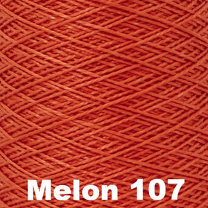 3/2 Mercerized Perle Cotton-Weaving Cones-Melon 107-