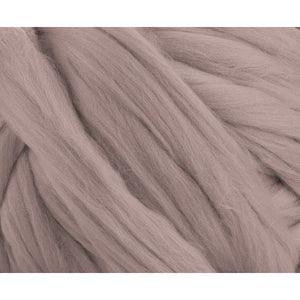 Soft Dyed (Mink) Merino Jumbo Yarn - 7lb Special for Arm Knitted Blankets-Fiber-